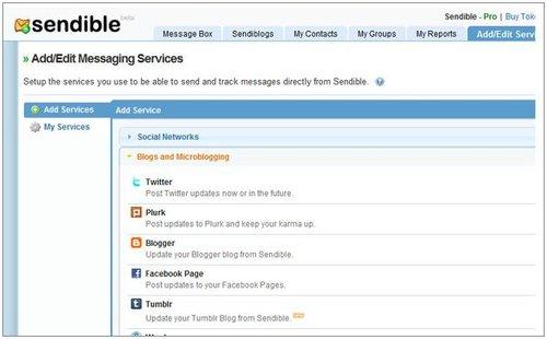 Sendible:像管理电子邮箱一样管理社交网络