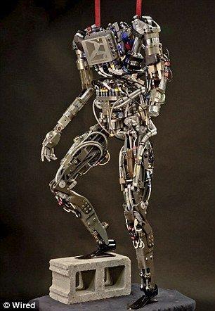 """美研制新型""""猎豹机器人"""" 速度可超过人类"""