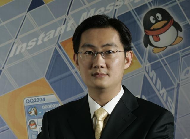 腾讯董事会主席兼CEO马化腾寄语微信沃卡截图