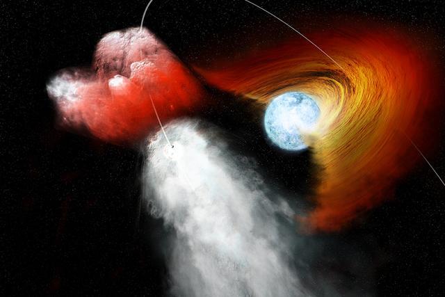 """NASA发现一颗近乎疯狂的""""脉冲星"""""""
