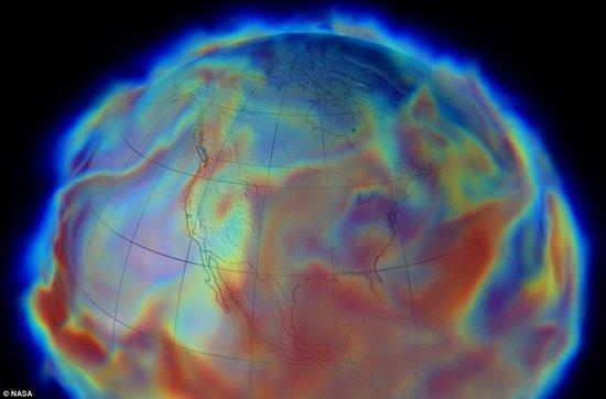 超级计算机建模地球大气层 提高天气预报精度