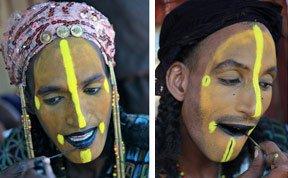 """直击非洲部落""""男子选美"""":牙齿必须洁白"""