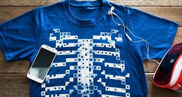 虚拟现实:穿上这件T恤衫可透视体内各个器官
