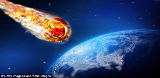 5500万年前一次巨大彗星撞击导致地球升温