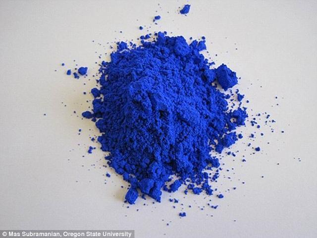 科学家意外发现一种完美蓝颜料能够永不褐色