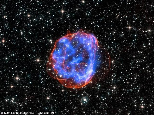 研究表明千年前超新星爆炸辐射仍在影响地球