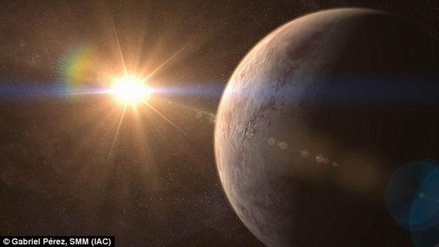 """科学家发现""""超级地球"""" 距离地球仅32.7光年"""