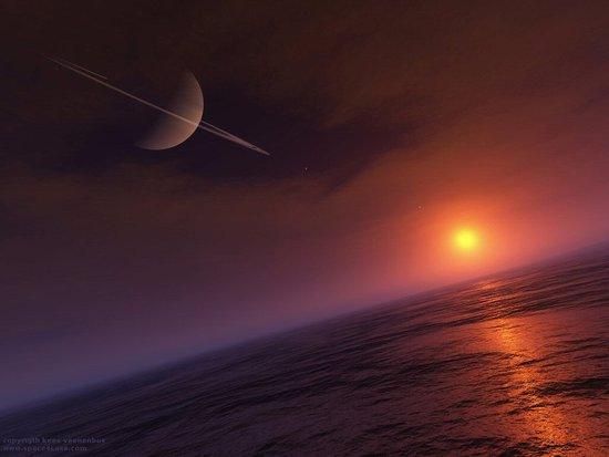 土星卫星或存外星生命 南极附近出现神秘裂缝