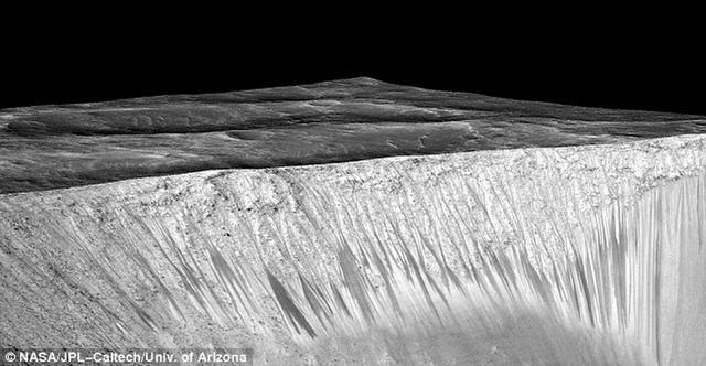 """火星表面发现奇怪形状 竟是远古""""沸水""""留下的痕迹"""