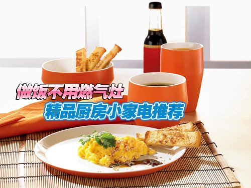 精品厨房小家电推荐 做饭不用燃气灶