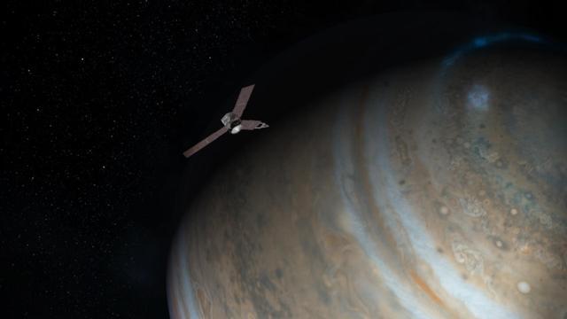 NASA朱诺号探测器将遭木星辐射轰炸