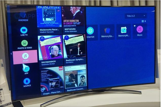 三星推出首款Tizen智能电视原型机