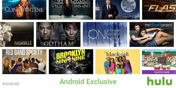 Android用户有福!节日可免费看Hulu影视节目