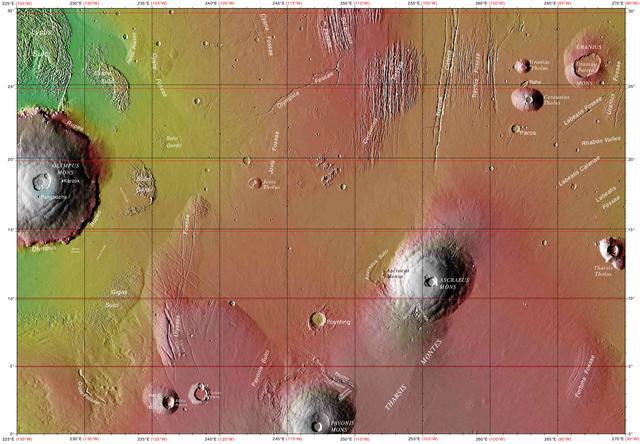 """科学家通过建模对早期火星地貌进行""""重建"""""""