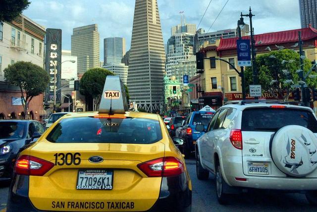 受Uber冲击,旧金山最大出租车公司破产了