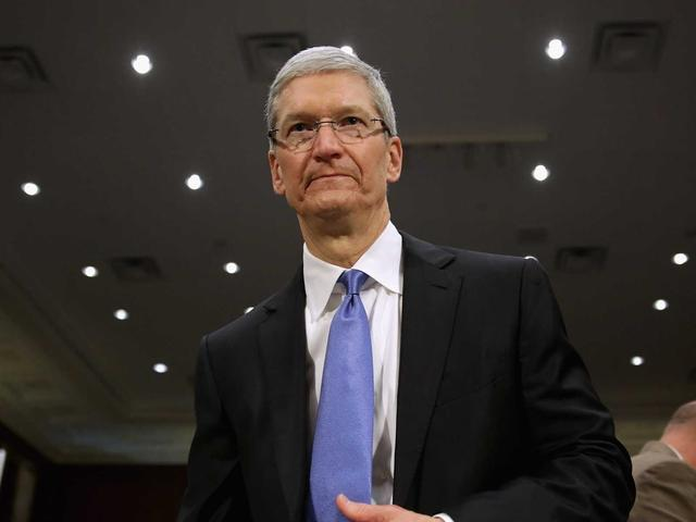 库克:苹果设备很安全 政府也无法获取用户隐私
