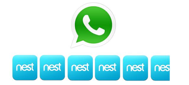 八张图告诉你FB收购WhatsApp规模有多大