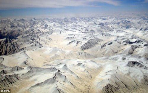 喀喇昆仑山脉冰川面积增加