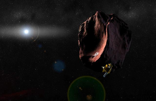 新视野号探测器2019年抵达下一个目标