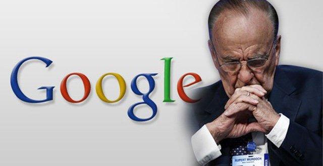 传媒大亨默多克向谷歌低头