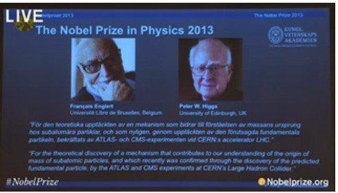 科学家与上帝_诺贝尔物理奖授予预言\