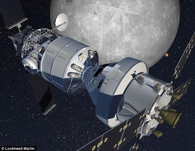 洛马公司计划在月球轨道建造一个太空前哨
