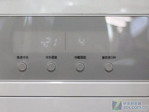 LG对开门冰箱售价8800元 精美绣球纹饰