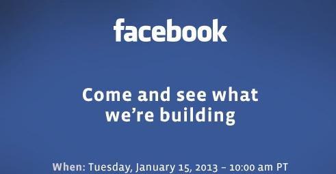 Facebook发送媒体邀请函 下周举办神秘发布会