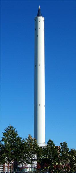 德国Bremen落塔,高123米,可获得至少4.74秒的微重力时间。