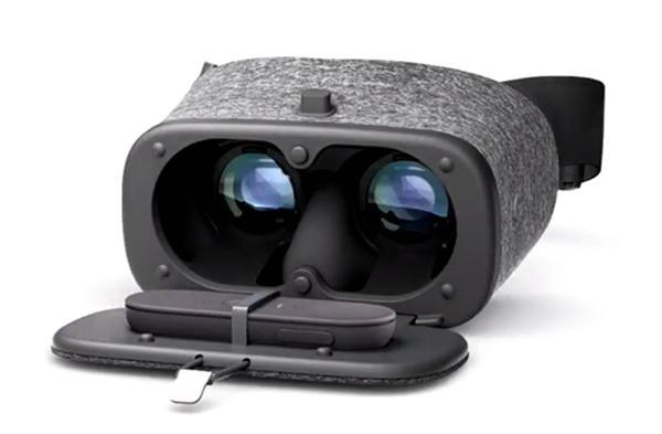 谷歌VR头盔Daydream View 10号开卖 VR圈越来越热闹了