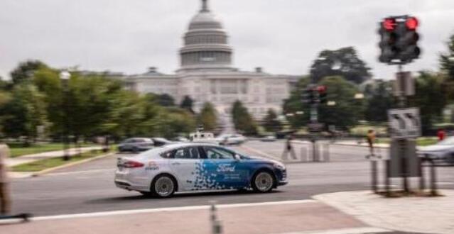 无人车在美国首都华盛顿特区上路 首批来自福特