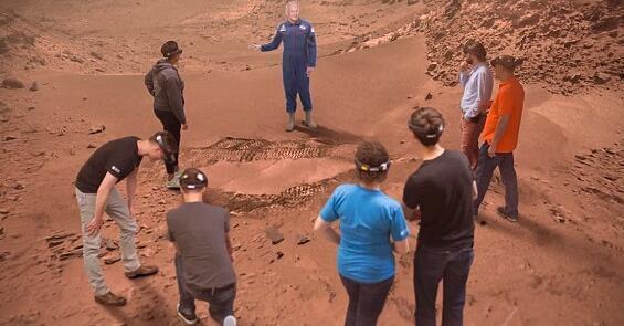 帅炸了!NASA用了VR和AR,谁都能去火星上探险了
