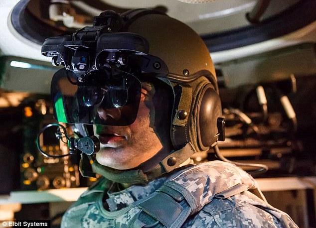 以色列研发可透视坦克头盔 能360度观察周围环境
