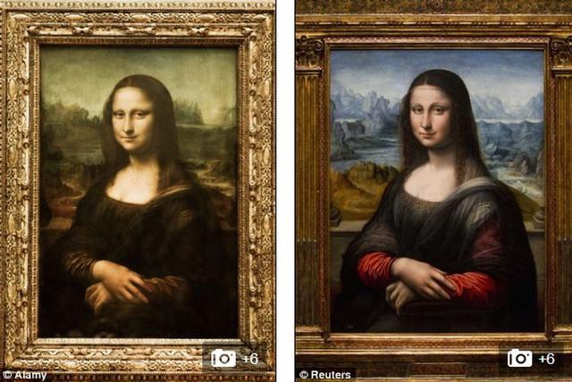 《蒙娜丽莎》是世界上最早的3D画像