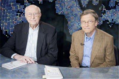 微软董事长比尔·盖茨父子做客CNN访谈实录(腾讯科技配图)-盖茨图片