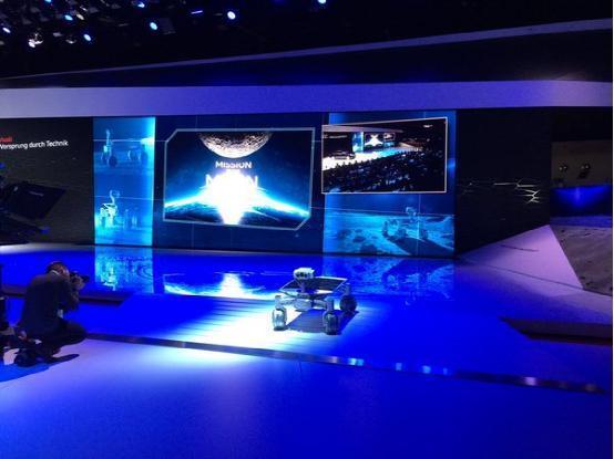 奥迪推出月球机器人 明年发射升空