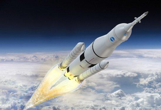 美国宇航局打造未来超级火箭 起飞重达3000吨