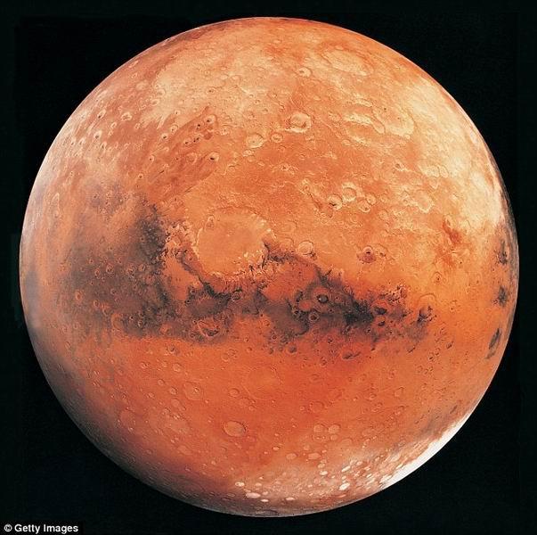 火星远古冰盖火山喷发促使表面液态水形成