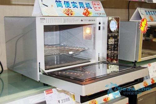 下拉门设计微波炉产品大推荐 美观实用