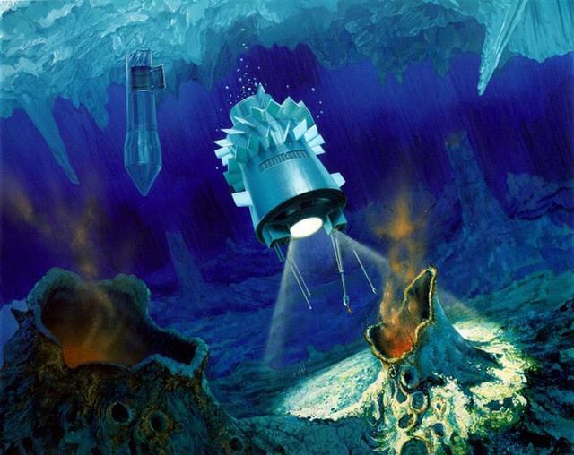科学家南极测试可用于探测外星海洋的探测器