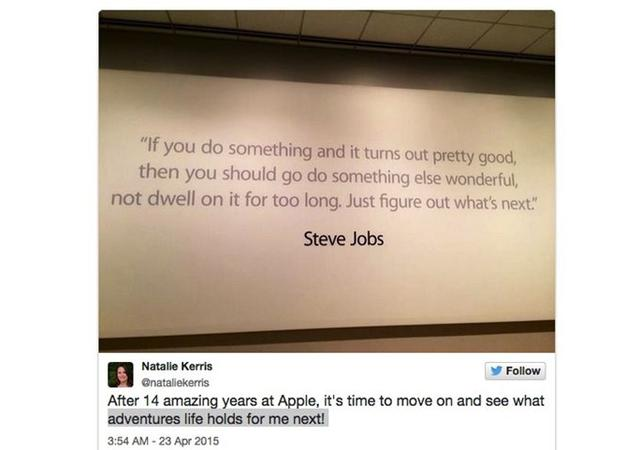苹果PR高管宣布离职 曾领导iPhone宣传工作