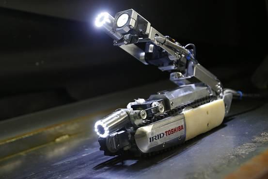 东芝机器人将进入福岛核电站查看内部情况