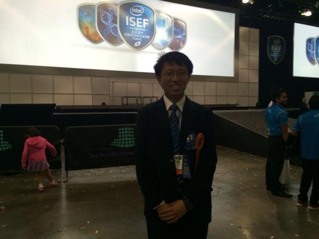 中国少年极客勇夺世界科技大奖
