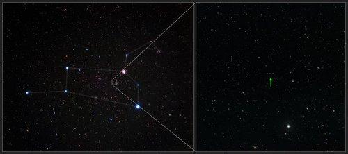 """银河系内一颗理论上不可能存在""""化石""""恒星"""