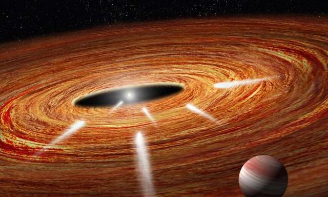 哈勃望远镜发现系外彗星撞击年轻恒星