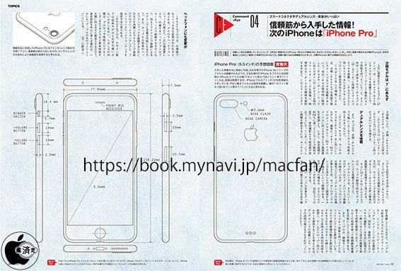 iPhone 7 Plus可能不需要保护套了 有设计图为证