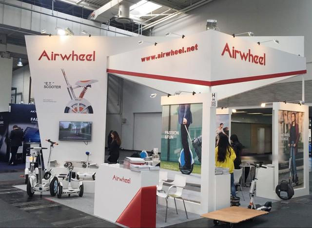 Airwheel with new product at CeBIT show