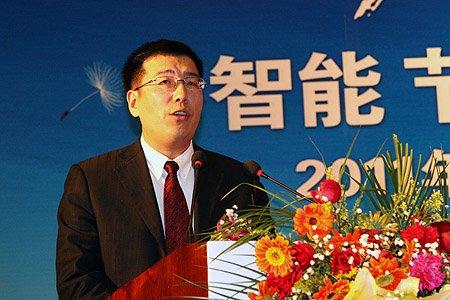 图文:海尔集团ACG国内销售部总监苏明讲话
