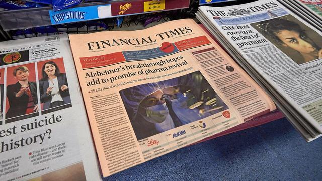 日经吞并金融时报