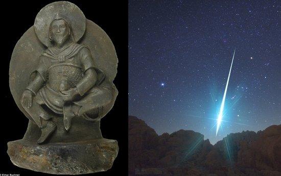 罕见铁陨石雕刻神秘古佛像 距今千年价值连城